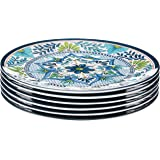 "Certified International Talavera 11"" Dinner Plate (Set of 6), Multicolor"