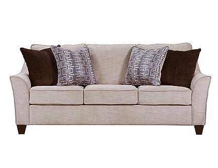 Simmons Upholstery 4330-03 Alamo Taupe Sofa