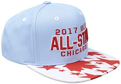 efde50400ac adidas MLS All Star Men s All Star Event Flat Brim Snapback Hat with Hook  Crown