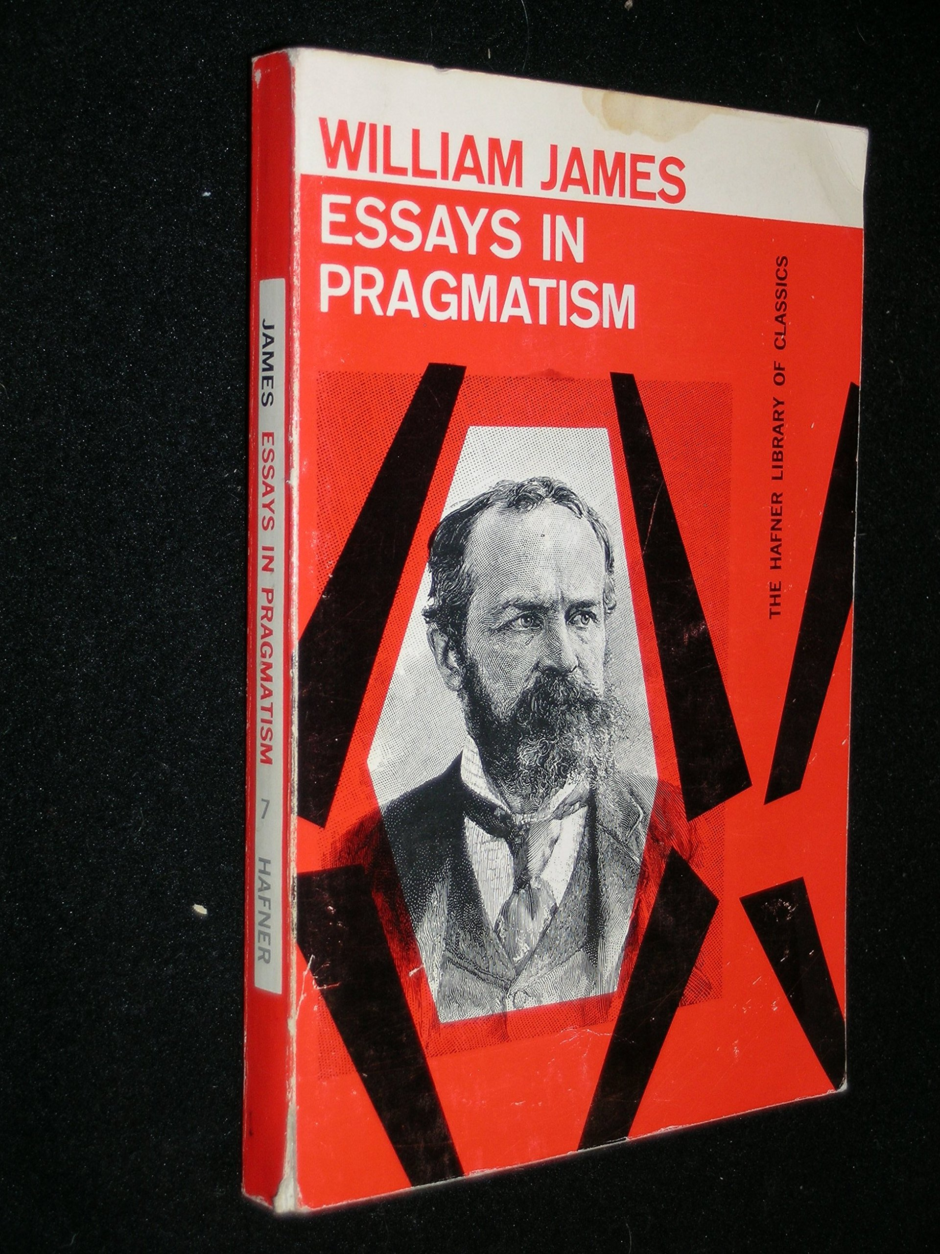 Essays in Pragmatism, James, William; Castell, Alburey (ed.)