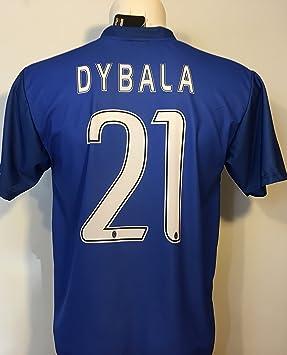 67b57a213 T-Shirt Jersey Blue Futbol Juventus Paulo Dybala 21 Replica Authorized  Adult Child (2