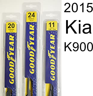 "product image for Kia K900 (2015) Wiper Blade Kit - Set Includes 24"" (Driver Side), 20"" (Passenger Side) (2 Blades Total)"