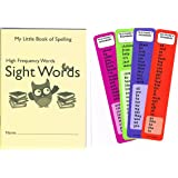 300 High Frequency Spelling words book - and Common Words bookmarks