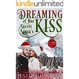 Dreaming of Her Secret Santa's Kiss (Cowboy Mountain Christmas, Small Town Sweet Romance, Book 3)