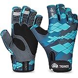 RUNCL Fingerless Gloves RAGUEL, Fishing Gloves, Sun Gloves - UPF 50+ Sun Protection, Microfiber-Tech Safeguard, Half-Finger S