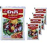 Gogi - Tempuramehl - 5er Pack (5 x 150g) - Original Thai - Für Tempurateig - Frittiermehl