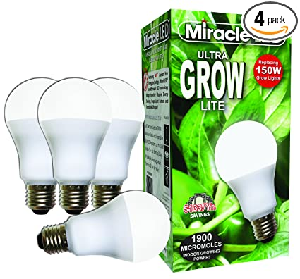 Amazon Com Miracle Led 604760 150w Ultra Grow Lite Full Spectrum