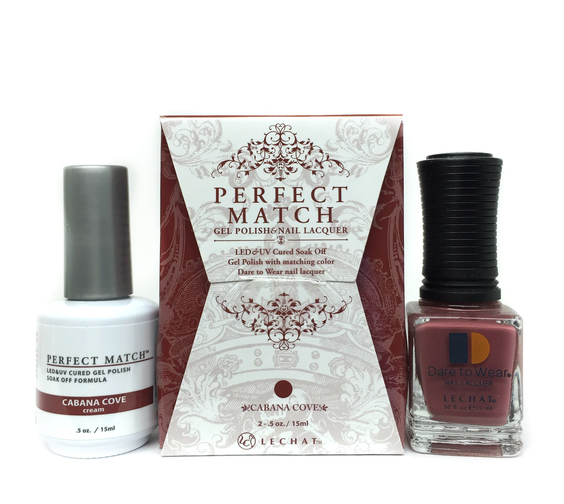 Amazon.com: LeChat Perfect Match Gel Polish + Nail Lacquer \