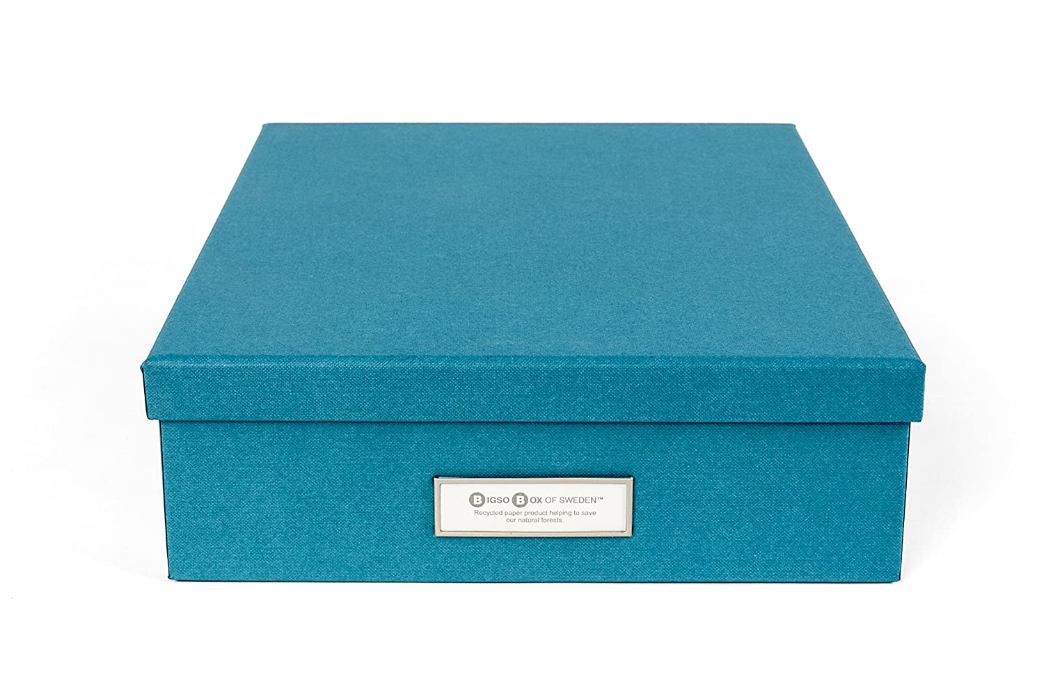 Bigso Oskar Document/Letter Box, Turquoise 945156641