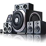 Edifier S550 Encore - Kit d'enceintes 5.1 Noir (540 Watts) Home Cinéma avec Télécommande IR