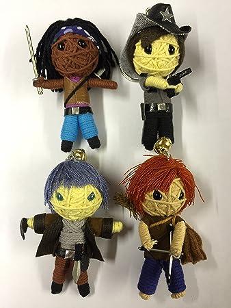 Amazon.com: The Walking Dead 4 muñecos de Daryl, Michonne ...