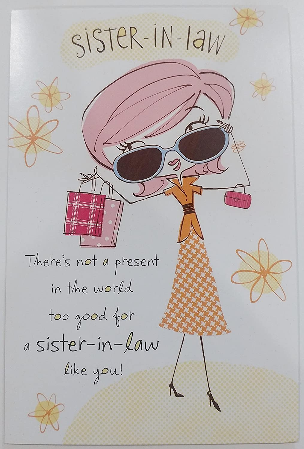 Amazon Happy Birthday Sister In Law Greeting Card