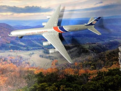 Amazon com: Flying Tigers Airlines Cargo DC-8-73 Jet Plane 1:600