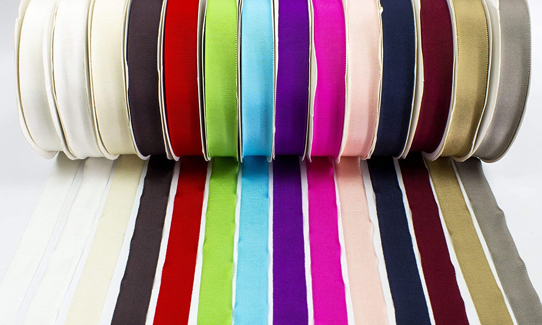 1m Charcoal Grey 100/% Cotton Millinery Petersham Ribbon 3 Sizes 15mm No.3, 25mm No.5, 35mm No.9