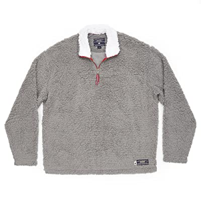 Southern Marsh Appalachian Pile Pullover at Men's Clothing store
