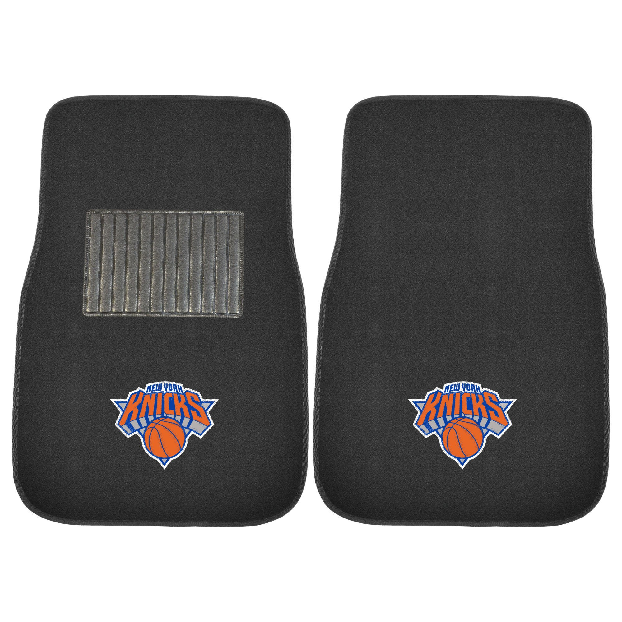 Fanmats 17614 NBA New York Knicks 2-Piece Embroidered Car Mat by Fanmats