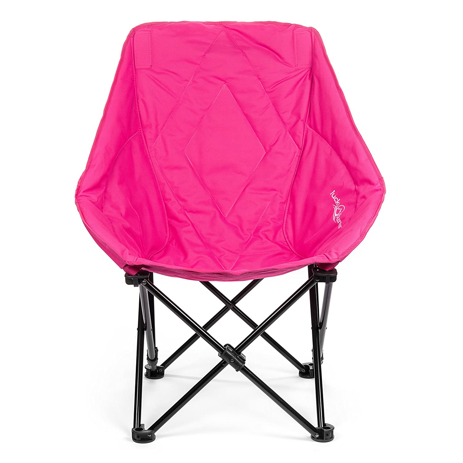 Lucky Bums Adult Oversized Folding Lounge Camp Chair, Large