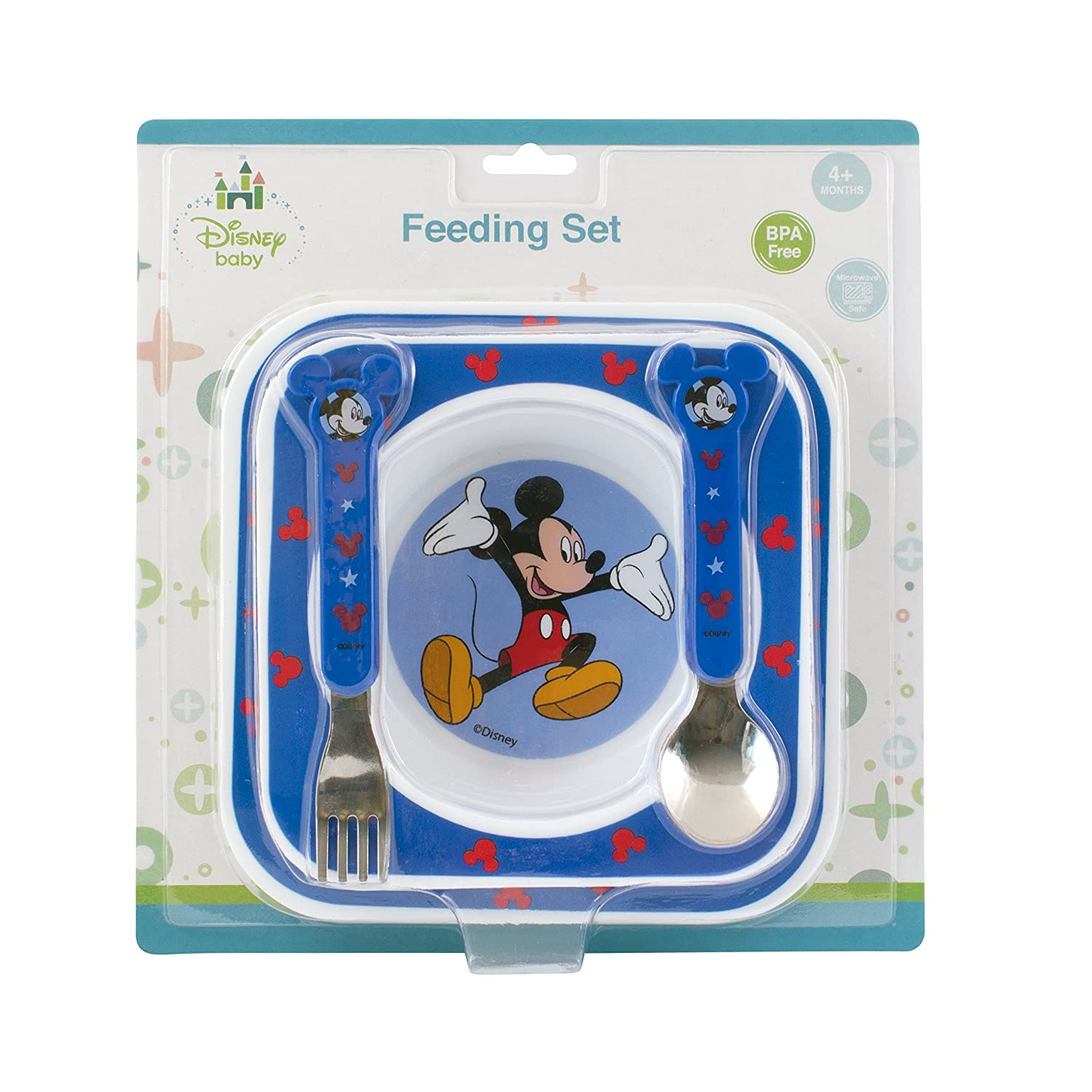 Disney Baby Mickey Mouse Feeding Gift Set 49458