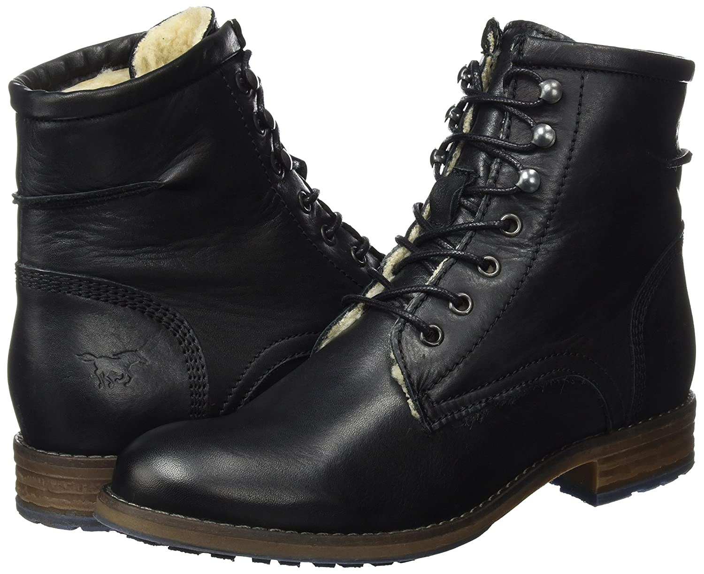 Mustang Damen 2853-604-9 Stiefel Schwarz Schwarz Stiefel (Schwarz) 8c6637