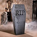 Halloween Coffin Cardboard Stand Up (almost 5 feet tall) Halloween Party Decor