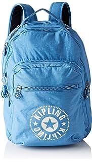Kipling CLAS SEOUL Mochila escolar, 45 cm, 25 liters, Azul (Dynamic Blue