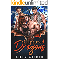 Captured by the Dragons: Paranormal Mating Reverse Harem Romance book cover