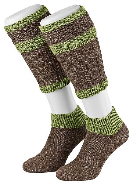 Tobeni Hombre Trachten Loferl Medias Trajes Aleman Calcetines Tradicionales