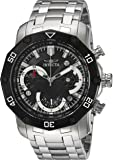Invicta Men's 'Pro Diver' Quartz Stainless Steel Casual Watch, Color:Silver-Toned (Model: 22760)