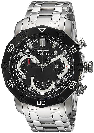 Invicta 22760 - Reloj de pulsera hombre, acero inoxidable, color Plata: Invicta: Amazon.es: Relojes
