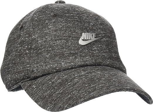 Nike NSW H86 Metal Futura Gorra, Hombre, Negro (Black Heather ...