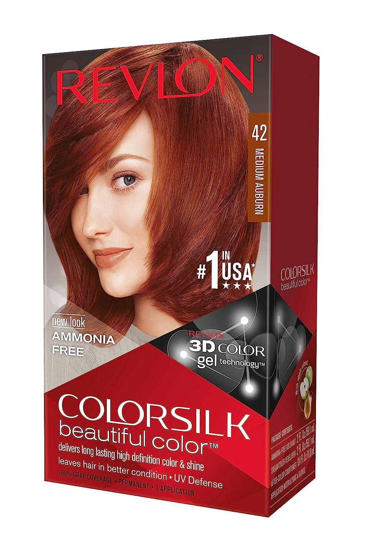 Amazon Revlon Colorsilk Haircolor Medium Auburn 440 Total