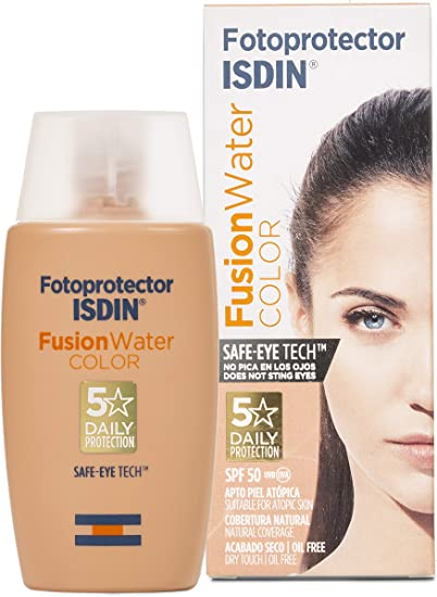 Fotoprotector Isdin Fusion Water Color Spf 50 50ml