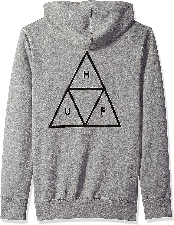 HUF Mens Essentials Tt P//O Hoodie Hooded Sweatshirt
