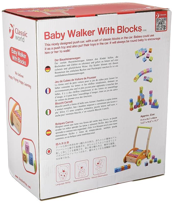 Andador de bebé con bloques: Amazon.es: Bebé