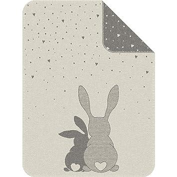 Amazon.com: IBENA Best Bunny Friends - Manta para bebé: Baby