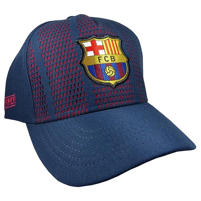 Gorra Oficial FC Barcelona - Blaugrana Troquel - Tallaje Adulto: Amazon.es: Ropa y accesorios
