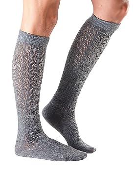 Tavi Noir Izzy Fashion orgánico de punto rodilla alta, Casual, textura calcetines para botas de desgaste diario y calcetines, Knit Fog: Amazon.es: Deportes ...
