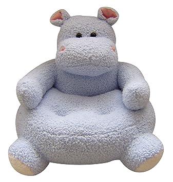 23u0026quot;x21u0026quot; Easter Plush Animal Chair   Hippo Design ...