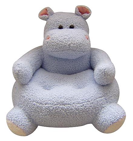 "23""x21"" Easter Plush Animal Chair - Hippo Design ..."