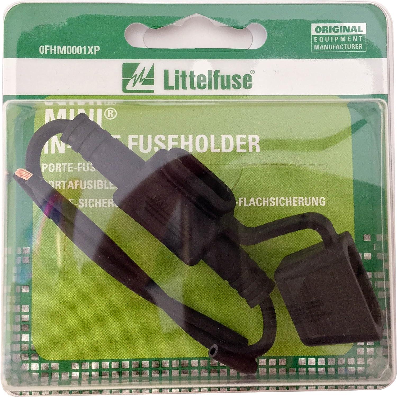Littelfuse 0FHM0001XP ACS Mini Carded Inline Fuse Holder