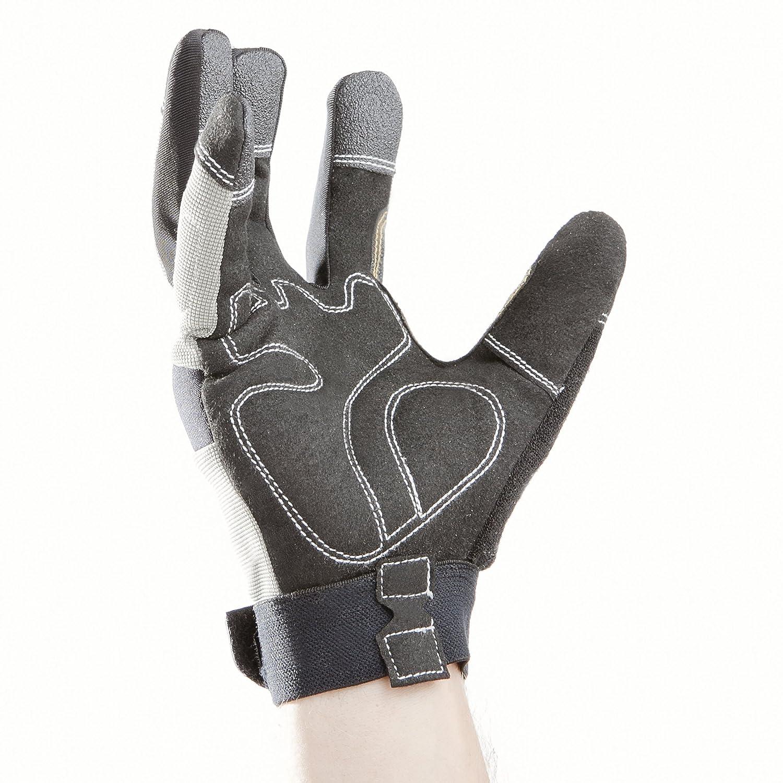 QAZWS 1 Paar Outdoor Angelhandschuhe LED Taschenlampe Handschuhe Arbeitshandschuhe mit Licht zum Reparieren Arbeiten an dunklen Orten Angeln Camping und Wandern Angelzubeh/ör Handschuhe Fingerlos