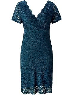 Amazon.com: Vestidos XXL Tallas Grandes Plus Ropa De Moda ...