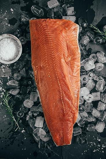 Wild Coho Salmon   Wild Alaskan Coho Salmon Fillet 10 Lbs Amazon Com Grocery