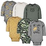 Gerber Baby Boys 6-pack Long-sleeve Onesies Bodysuit