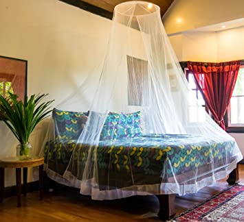Premium Mosquito Net for Twin Queen King Beds - Large Mosquito Netting Indoor & Amazon.com: Premium Mosquito Net for Twin Queen King Beds ...
