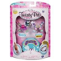 Twisty Petz – 3-Pack – Sunshiny Pony, Posie Poodle and Surprise Collectible Bracelet Set for Kids