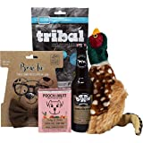 Dog Gift Set - Treats, Dog Beer, Toy, Bow-Tie & Lunch - Perfect for a Dog Birthday