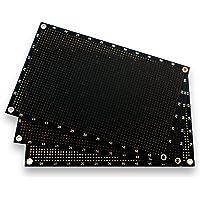 Akozon Breadboard 1660 Punkte L/öcher Plug-in Breadboard-Test-Bett-freier L/ötmittel-Stromkreis-Test