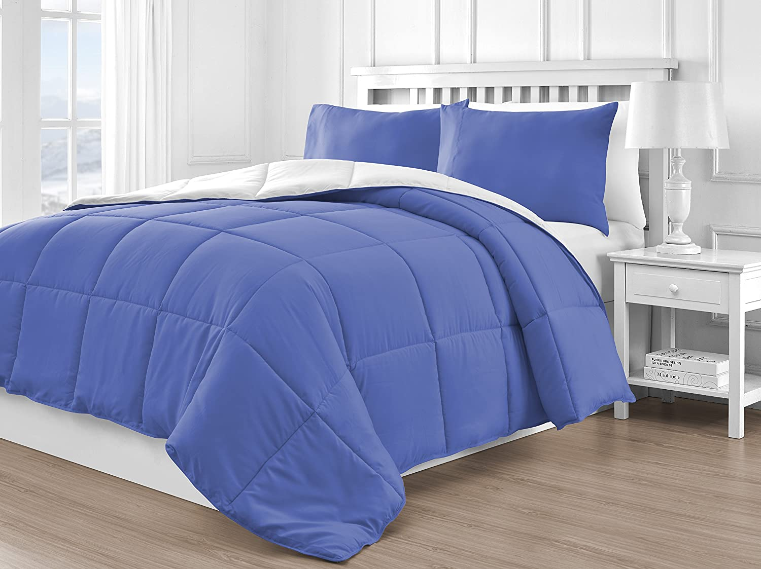 Reversible Down Alternative 3-Piece Comforter Set