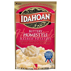 Buttery Homestyle Mashed Potato Pouches (12-Pack)